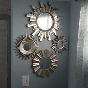 Wall decorative mirrors